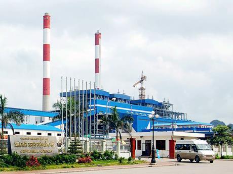 tẩy keo dầu máy nén khí comp'air nhà máy nhiệt điện cẩm phả